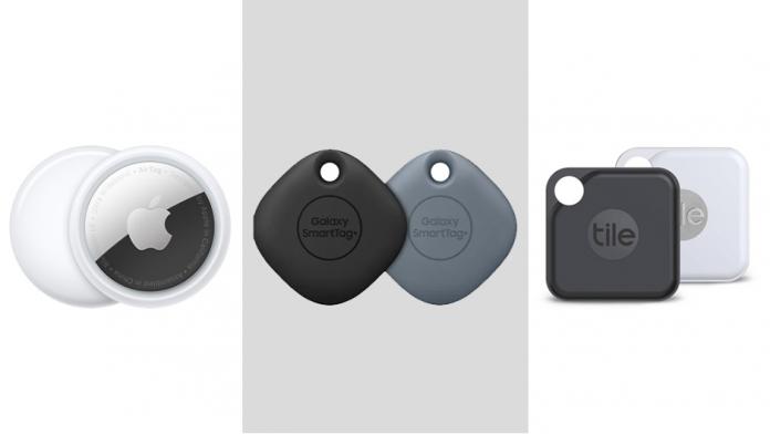 Trackerele inteligente Apple Samsung si Tile fata in fata