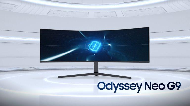 Samsung Odyssey Neo G9 – un monitor de jocuri care sfidează realitatea