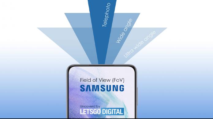 Camera foto Samsung Galaxy cu un camp vizual variabil