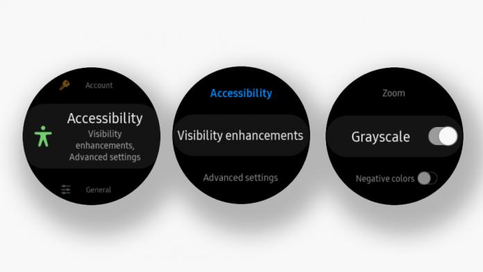 Cum să chimbati ecranul initial alb negru pe ceasurile Samsung Galaxy