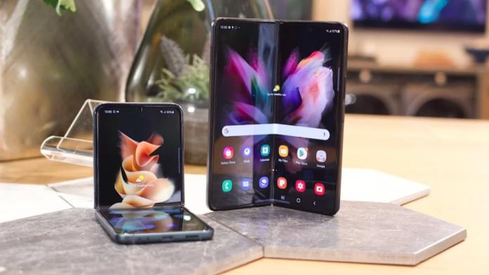 Galaxy Z Flip 3 5G si Z Fold 3 5G sunt single SIM si fara eSIM in SUA