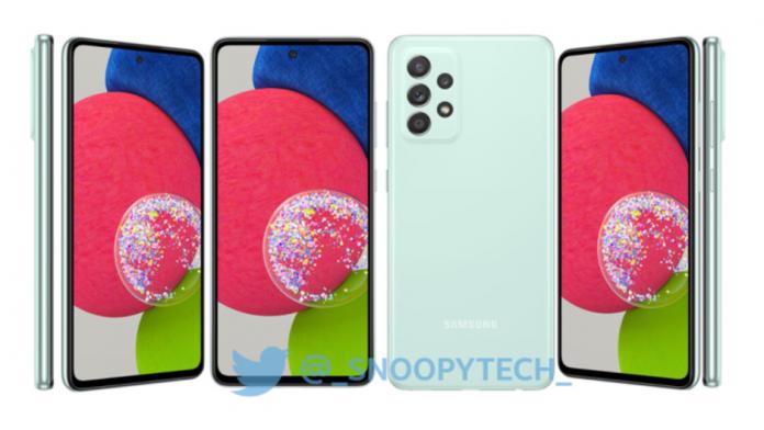 Samsung Galaxy A52s arata un telefon de incredere
