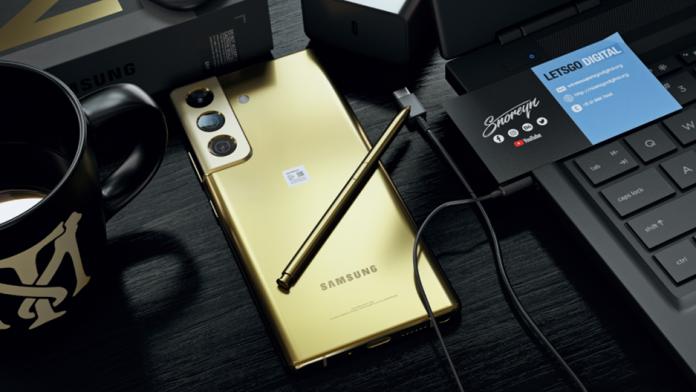 Samsung Galaxy Note 22 va fi lansat in 2022
