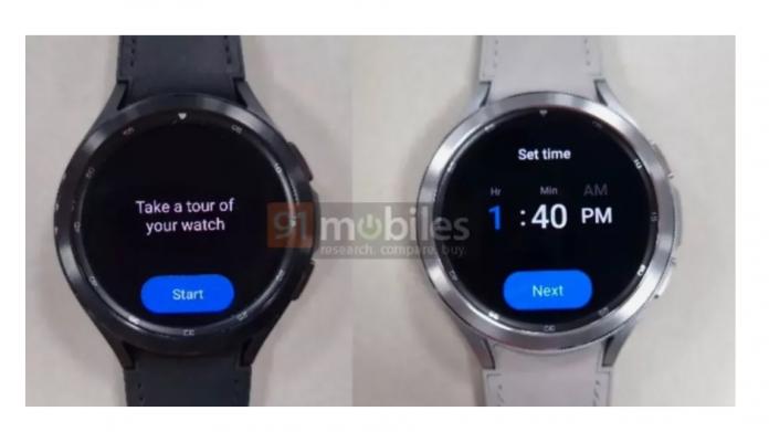 Samsung Galaxy Watch 4 Classic a aparut in noi noi fotografii