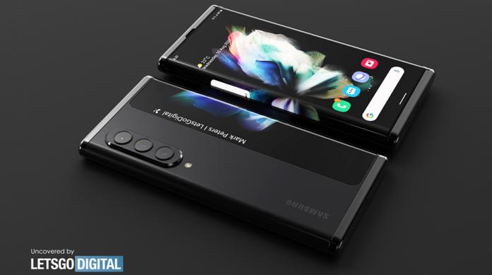 Samsung Galaxy Z Slide un telefon rulabil posibil la Unpacked 2022