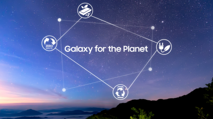 Samsung anunta Sustainability Vision for Mobile Galaxy for the Planet