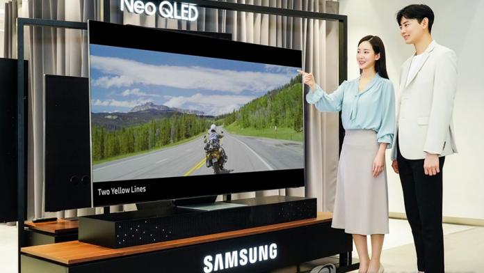 Samsung domina piata mondiala a televizoarelor in H1 2021