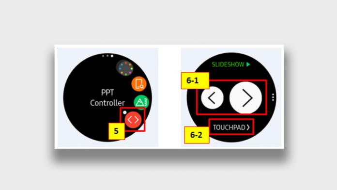 Aplicatia Samsung PPT Controller disponibila pentru Galaxy Watch 4
