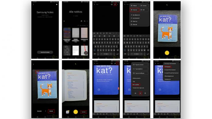 Cum sa scanati documente de mai multe pagini in PDF cu Samsung Notes