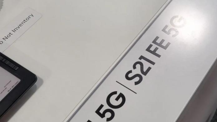 Galaxy S21 FE mai aproape de lansare are pagina live