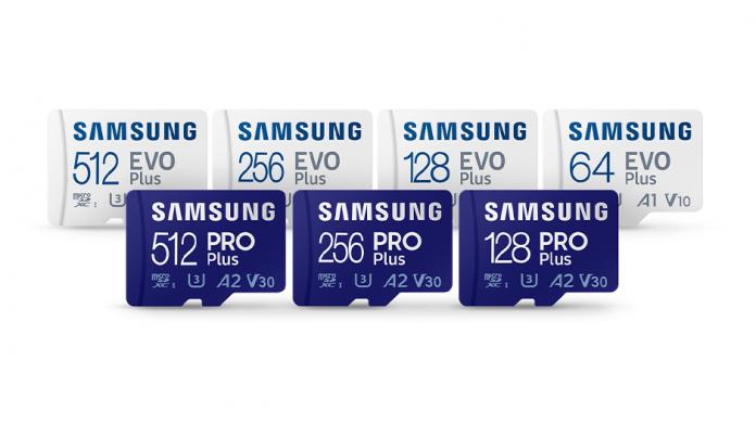Noi carduri microSD Samsung PRO Plus si EVO Plus mai rapide si durabile
