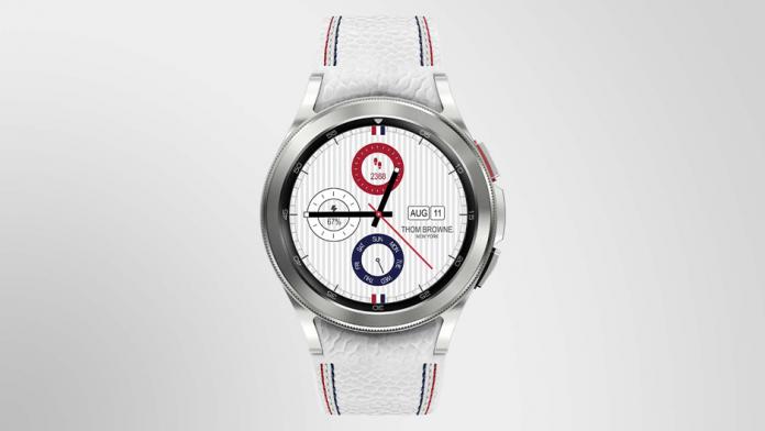 Samsung a lansat Galaxy Watch 4 Classic Thom Browne Edition
