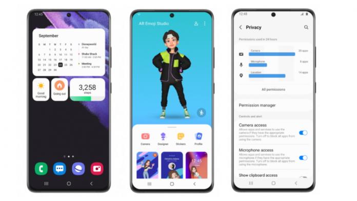 Samsung a lansat programul One UI 4 beta pentru seria Galaxy S21