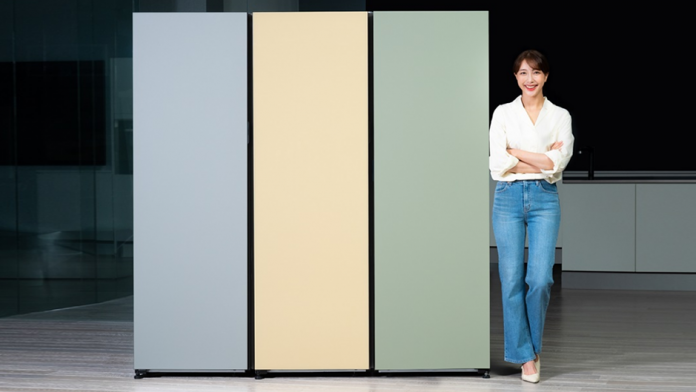Samsung a lansat un nou frigider personalizat cu o singura usa