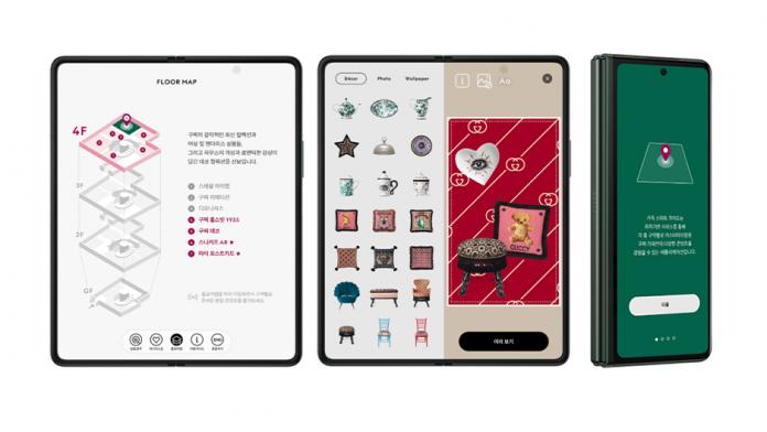 Samsung si Gucci colaboreaza pentru lansarea aplicatiei Ghid inteligent House