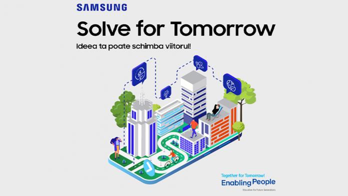Solve For Tomorrow by Samsung pentru prima data in Romania