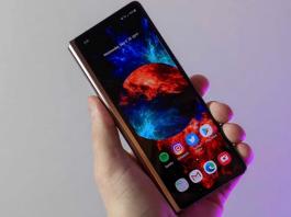 Galaxy Z Fold 2 actualizarea din octombrie 2021 lansata
