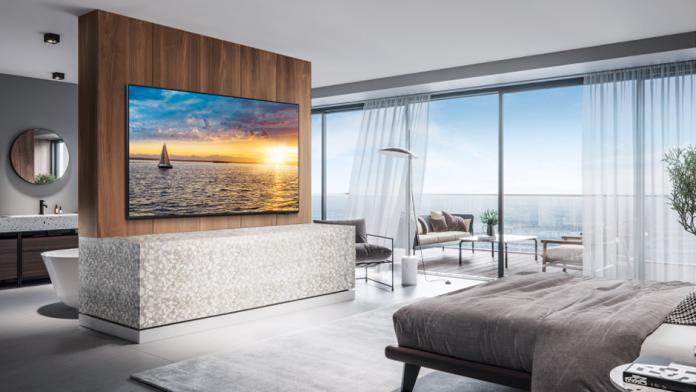 Samsung HQ60A noi televizoare pentru sejururi de lux la hotel