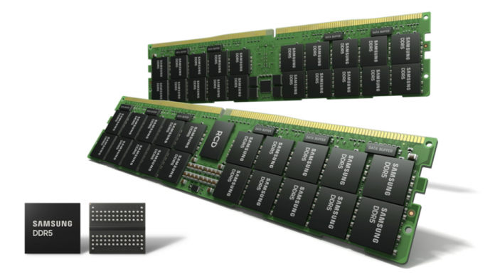 Samsung a inceput productia in masa a DRAM EUV DDR5 de 14nm