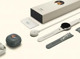 Samsung si Maison Kitsuné au lansat editiile speciale Galaxy Watch 4 si Buds 2