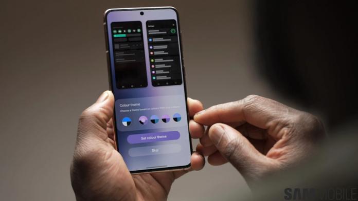 Toate aplicatiile Samsung vor beneficia de Material You pe One UI
