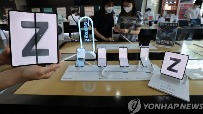 Vanzarile noilor telefoane pliabile Samsung in Coreea au ajuns la 1 milion
